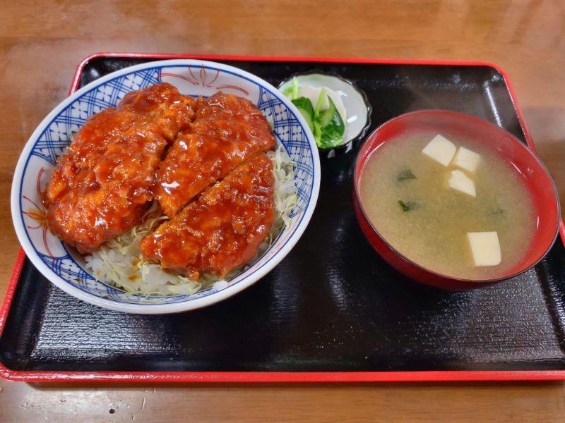 赤がき食堂 ソースかつ丼