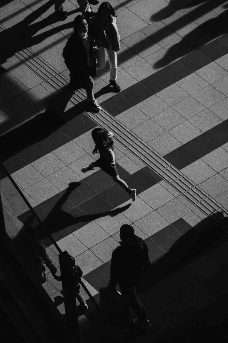 写真:写真展で展示したジャンプしてる写真
