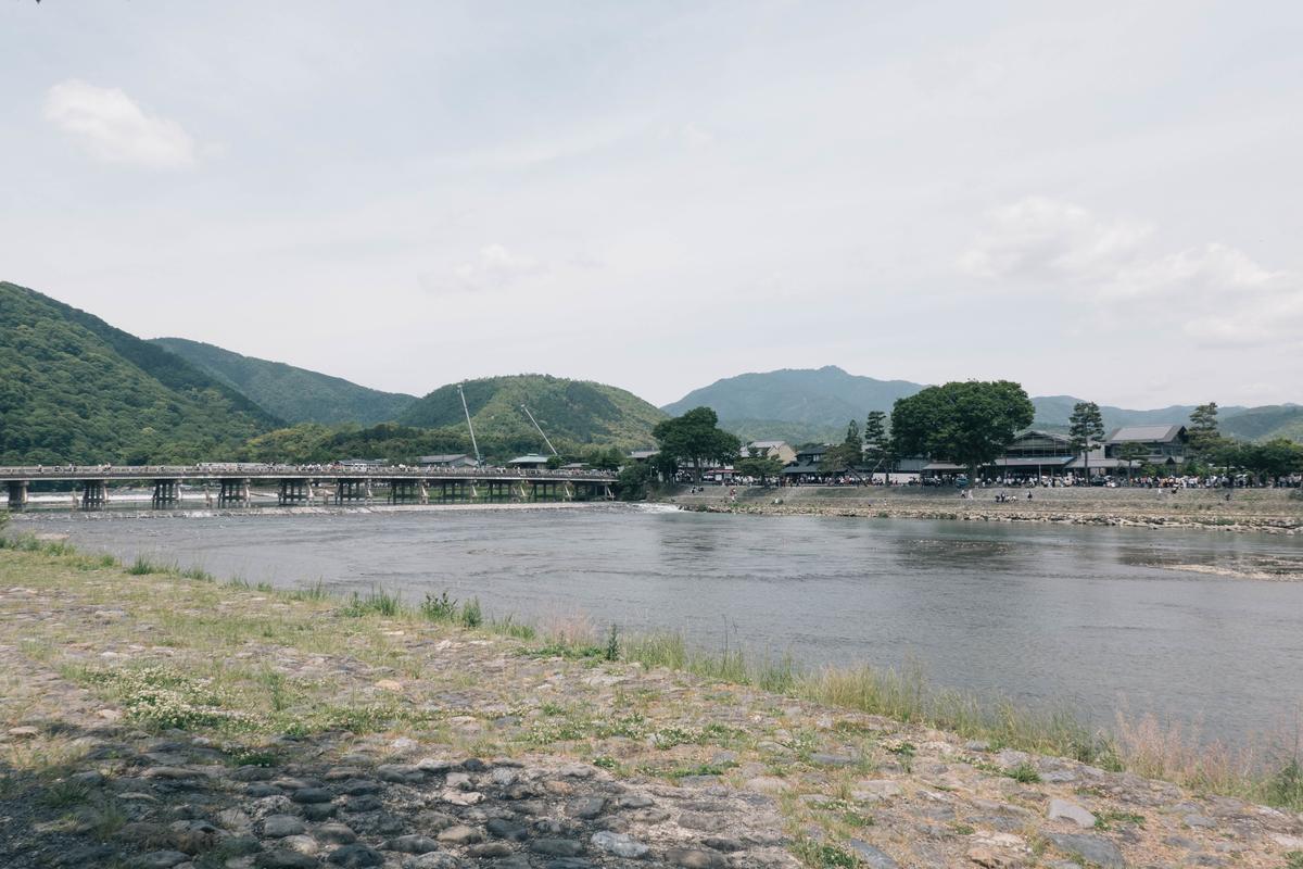写真:京都嵐山の桂川