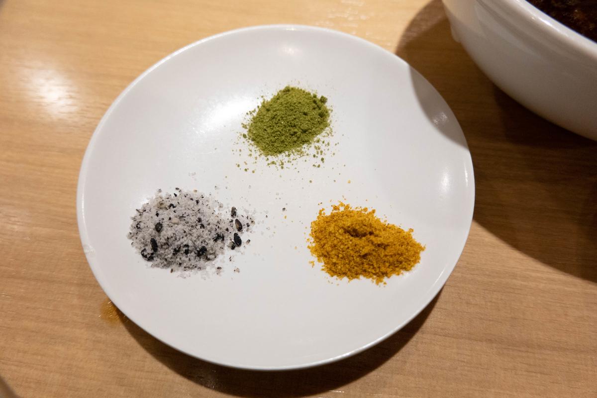 写真:天ぷらのひらおの塩