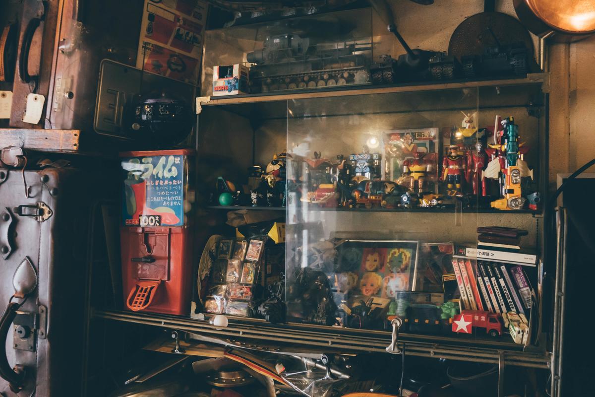 写真:ANTIQUES CAFEのフィギアたち