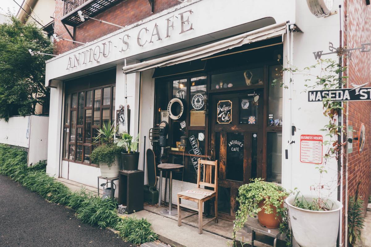 写真;ANTIQUES CAFEの外観