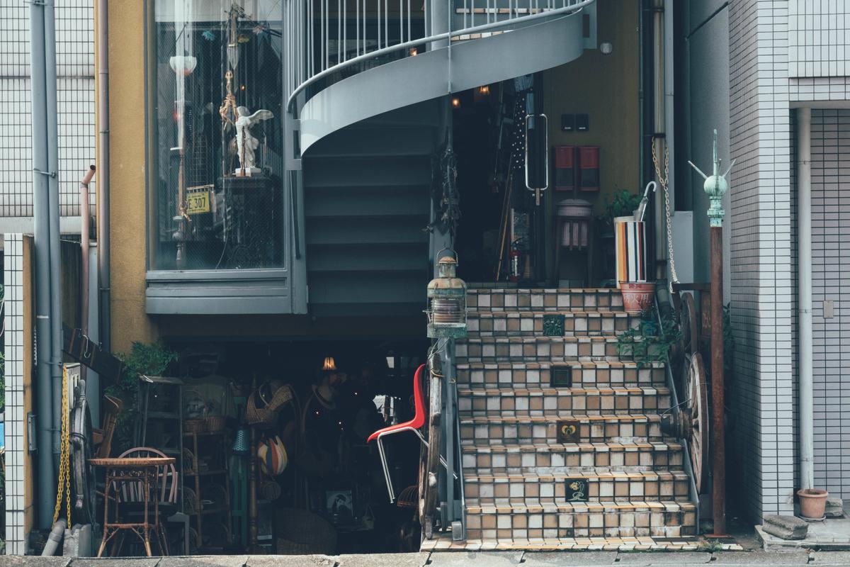 写真:一乗寺の雑貨屋