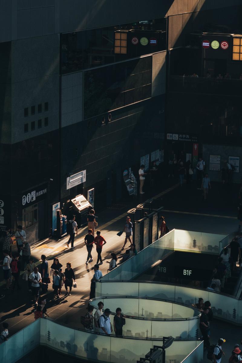 写真:京都駅1階