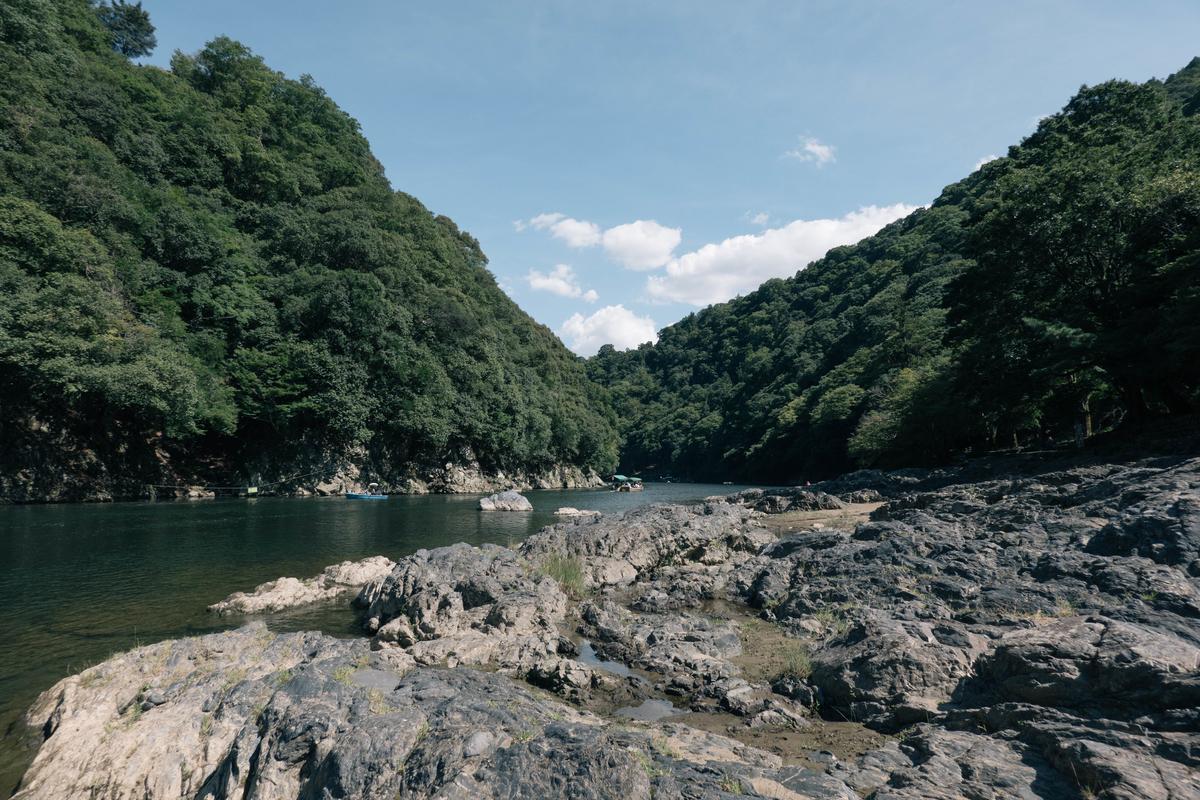 【京都】嵐山で人が少ない方へ歩きながら写真を撮ってきたの画像