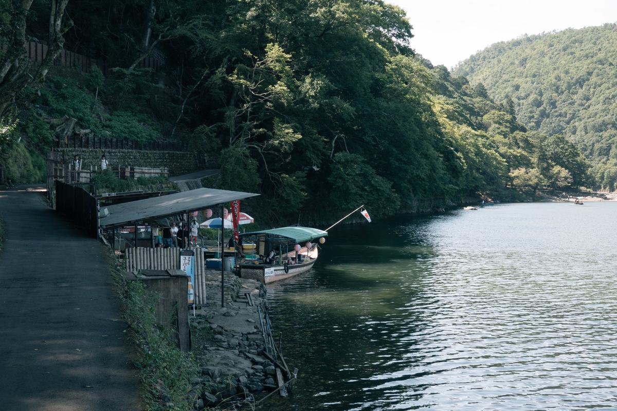 写真:嵐山の琴ケ瀬茶屋