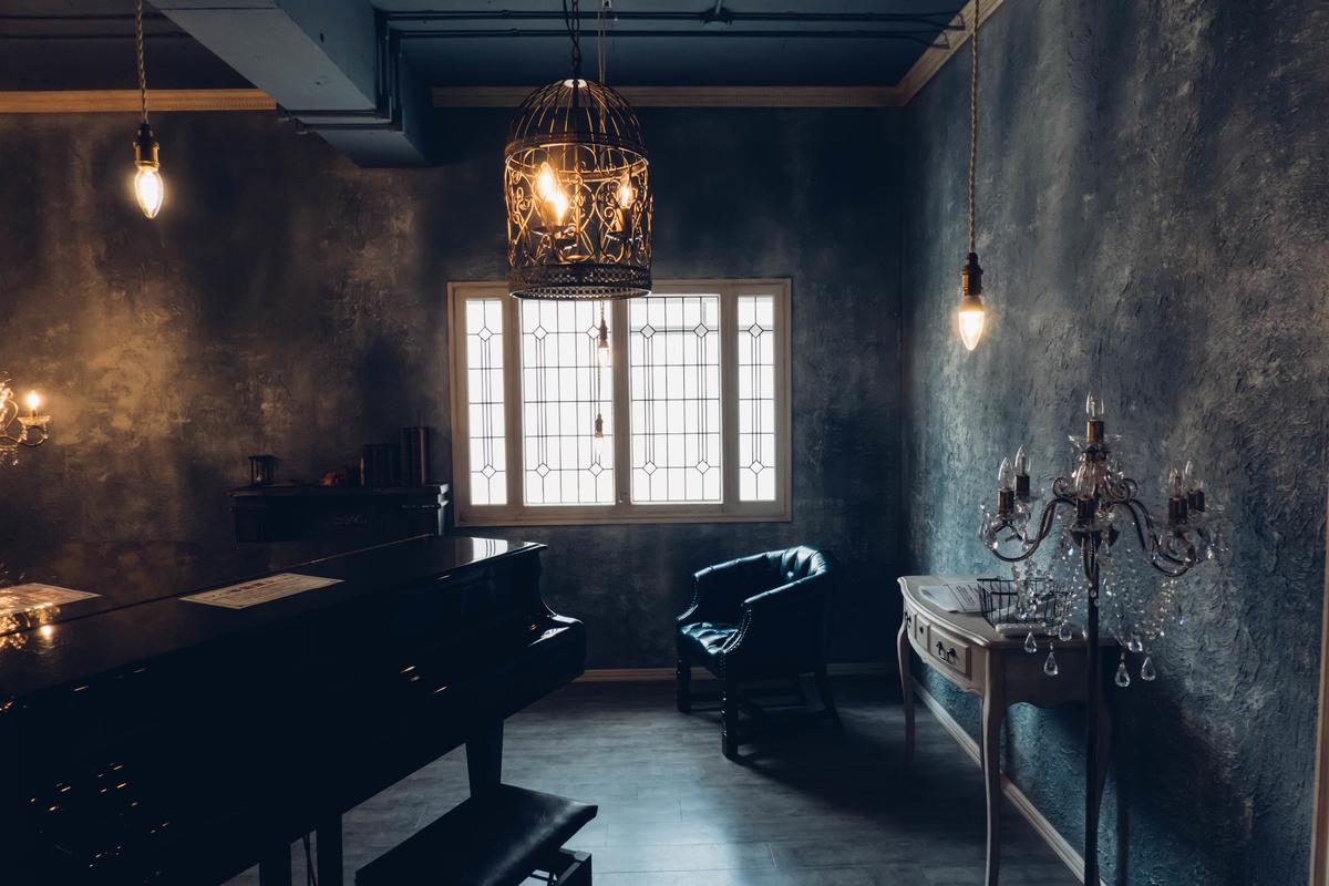写真:スタジオシエルのグランドピアノ