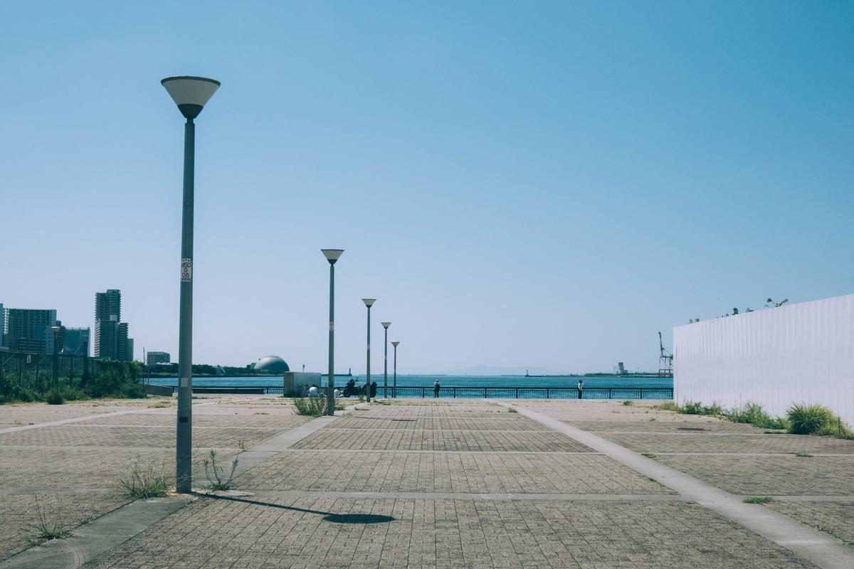 写真・大阪港のダイヤモンドポイント