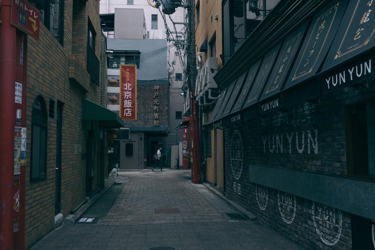 写真:朝の中華街