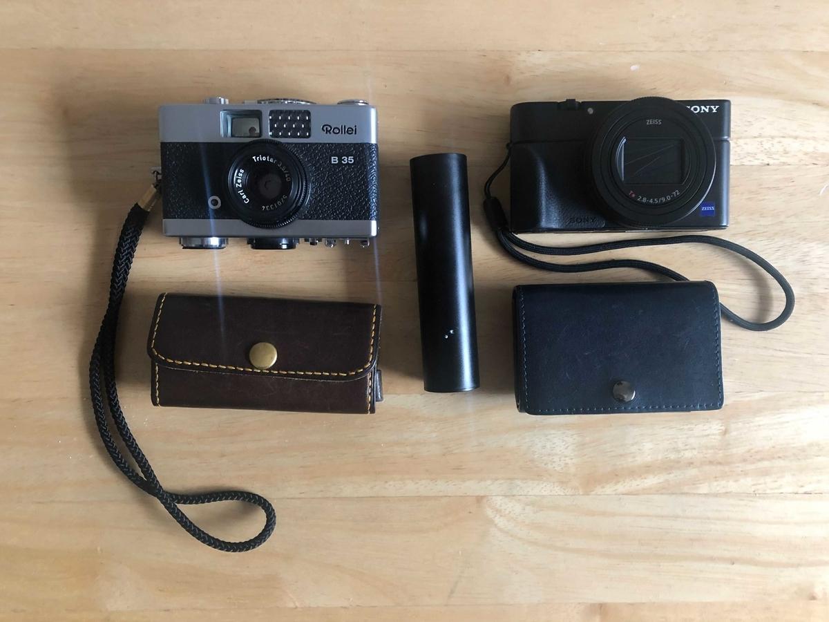 写真:カメラ装備