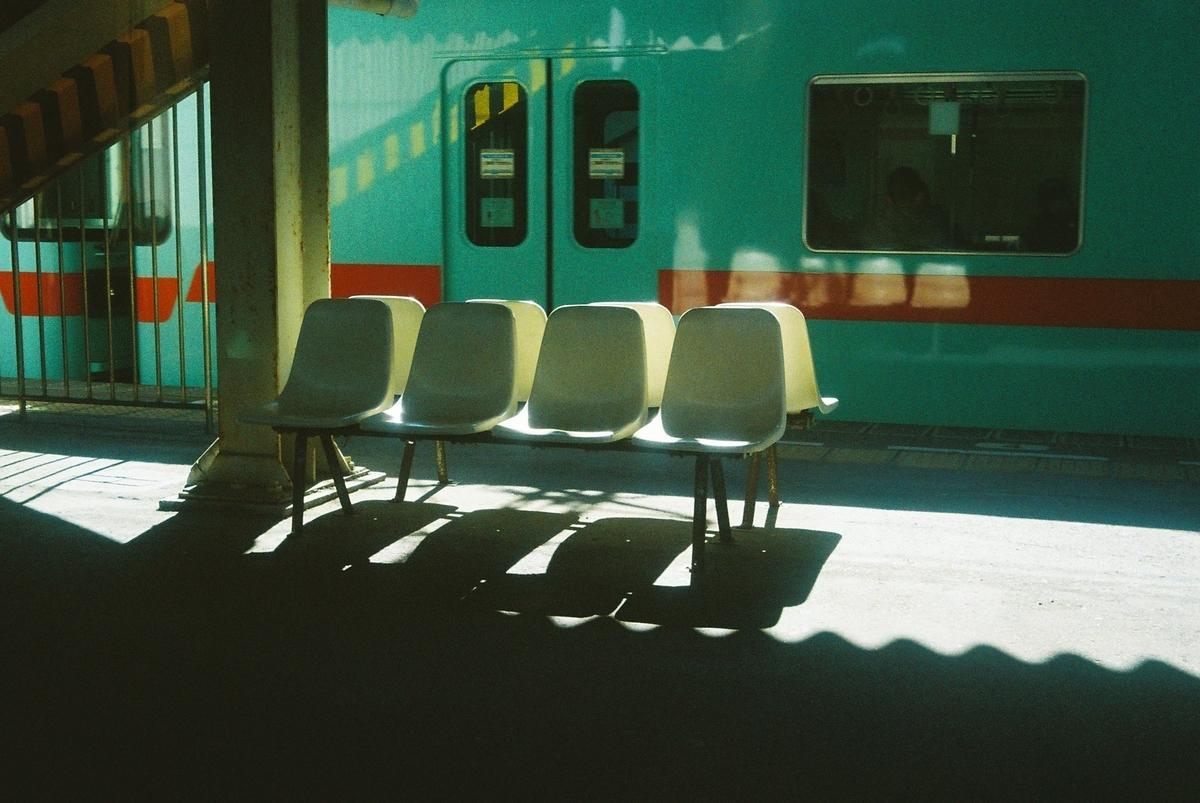 写真:どっかの駅