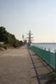 西側公園に帆船が来てました。 (CONTAX G Planar 35/2)