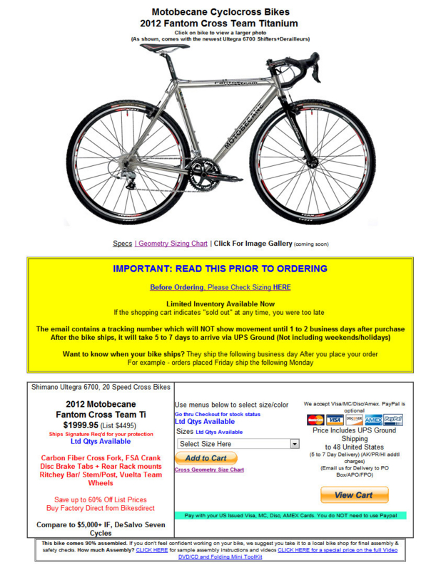 http://www.bikesdirect.com/products/motobecane/fantom_cross_ti_xi.htm