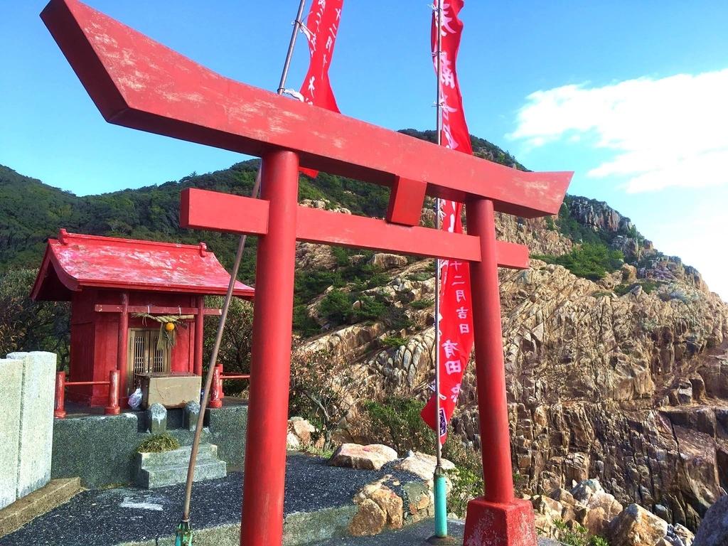 高知・土佐清水の「竜宮神社」本殿