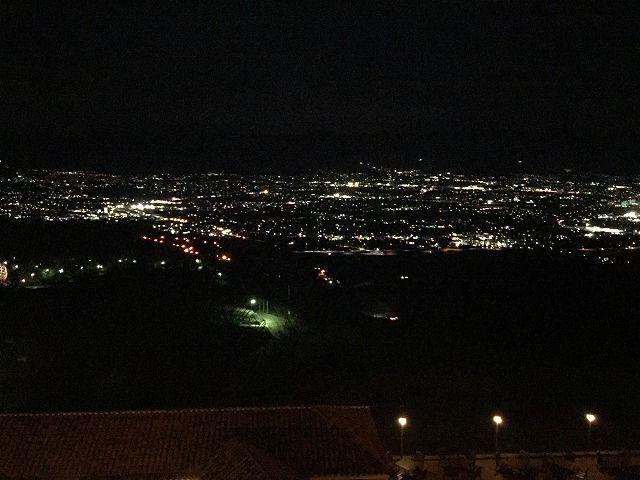 フルーツパーク富士屋ホテルから見る夜景の写真