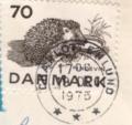 デンマーク ハリネズミ(保護動物) 1975年
