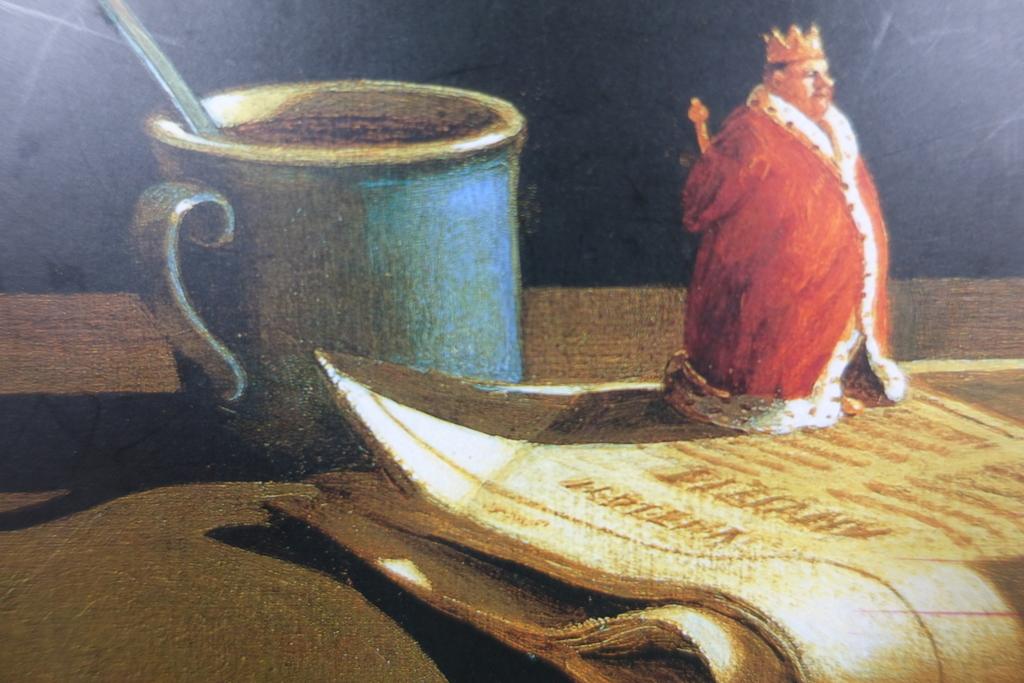 ミヒャエル・ゾーヴァの王様のイラスト