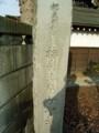 都指定天然記念物 梅岩寺のケヤキ碑