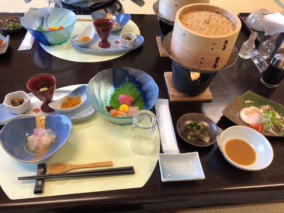 ベネフィットステーション熱海伊豆山の夕食