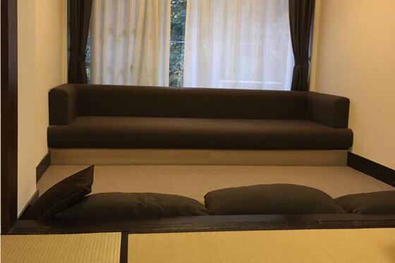 パークス吉野の和洋室の段差
