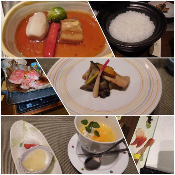 パークス吉野の夕食