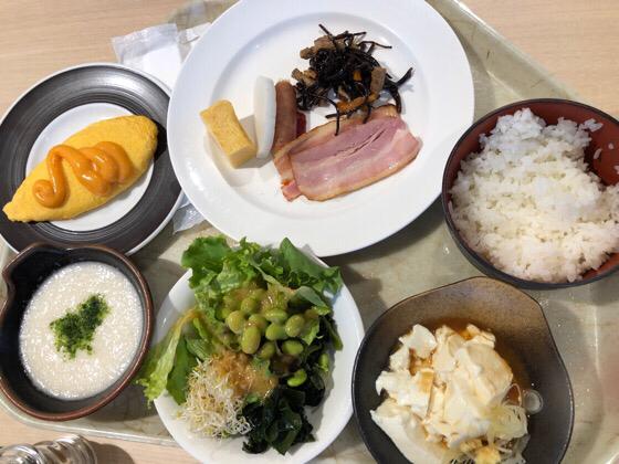 グリーンプラザ箱根の朝食メニュー