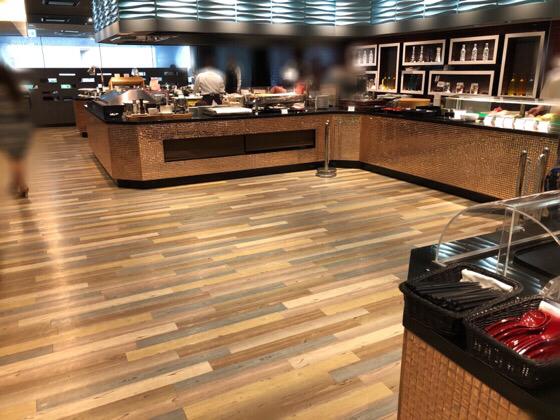 新横浜プリンスホテルケッヘルの料理台