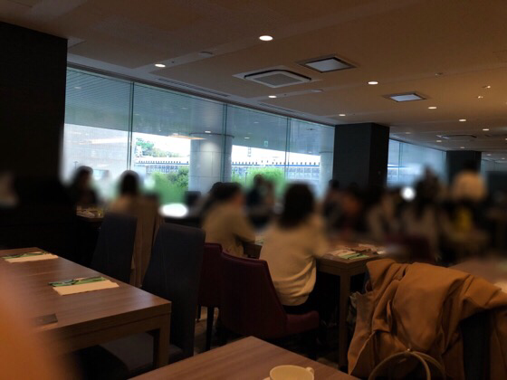 新横浜プリンスホテルケッヘルから見える新幹線