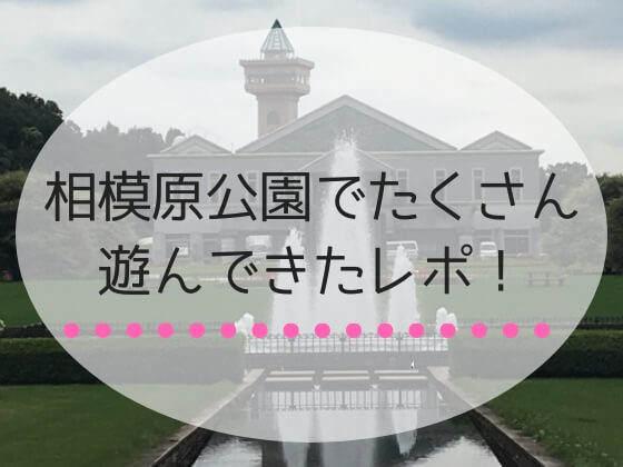 神奈川県相模原市にある相模原公園でたくさん遊んだレポ