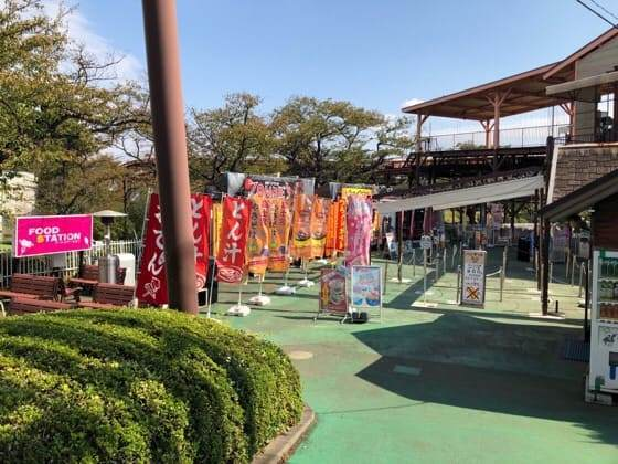 東京都稲城市にあるよみうりランドのFOODSTATION