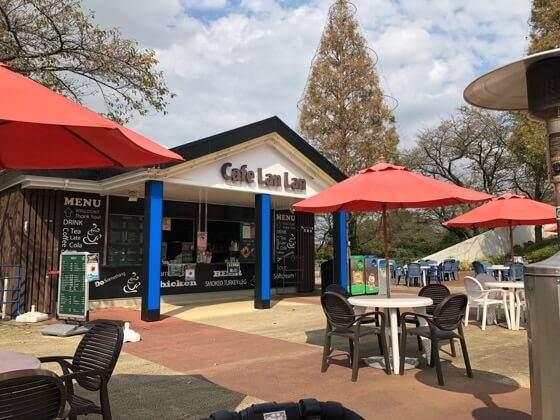 東京都稲城市にあるよみうりランドのCafe LanLan