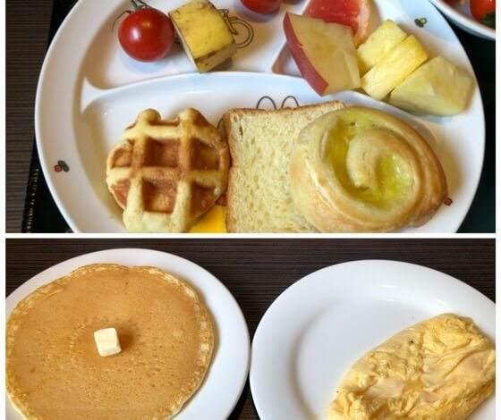 箱根にあるホテルおくゆもとの朝食