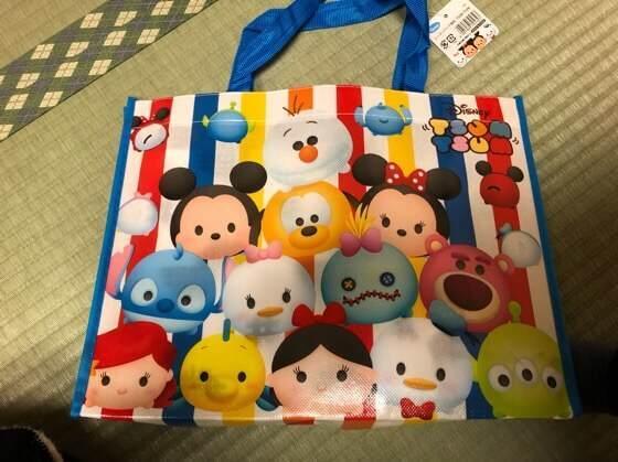 箱根にあるホテルおくゆもとの子ども用アメニティの袋