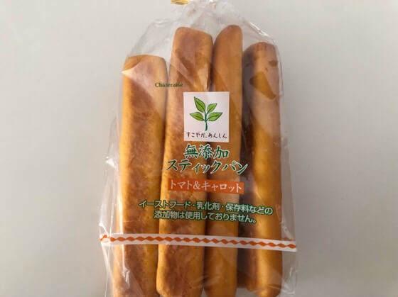 シャトレーゼの無添加スティックパン