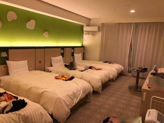 三井ガーデンホテルプラナ東京ベイのバルコニーフォースの室内