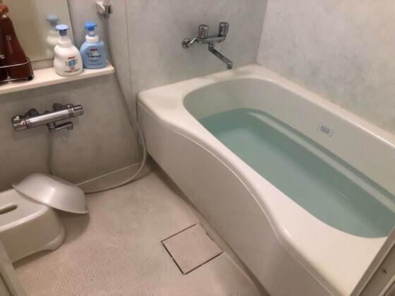 三井ガーデンホテルプラナ東京ベイのバルコニーフォースのお風呂
