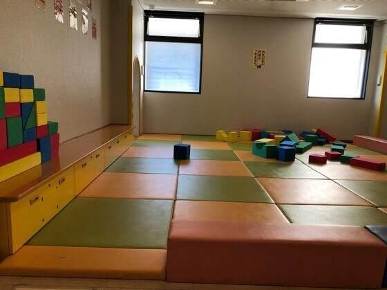 相模原市健康文化センターのキッズスペースの幼児コーナー