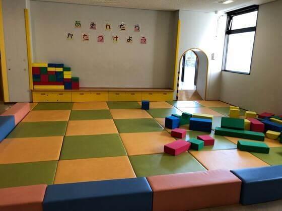 相模原市健康文化センターのキッズスペースの幼児コーナーの正面