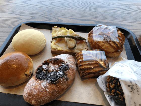 ベーカリーアンドテーブル箱根で食べたパン