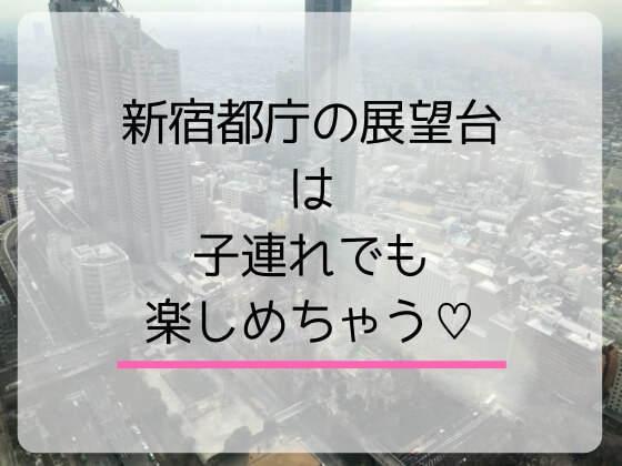 新宿都庁の展望台は子連れでも楽しめるよ