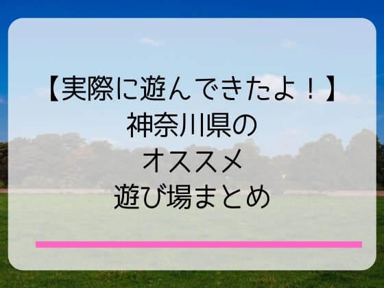 神奈川県の子連れに嬉しい遊び場を紹介
