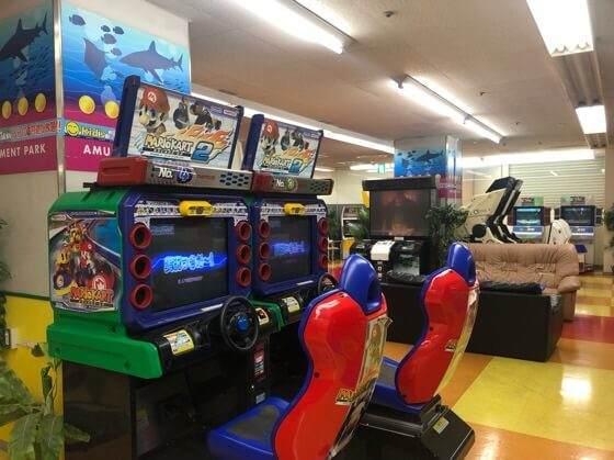 相模大野のKid's US.LANDにあるマリオカートなどのゲーム