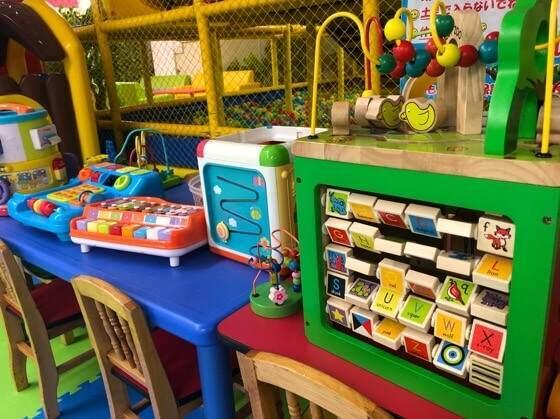Kid's US.LAND相模大野店にある小さな乳幼児向けのおもちゃ