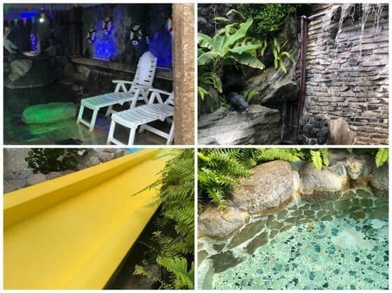 伊豆熱川温泉ホテルカターラにあるジャングルスパパウ