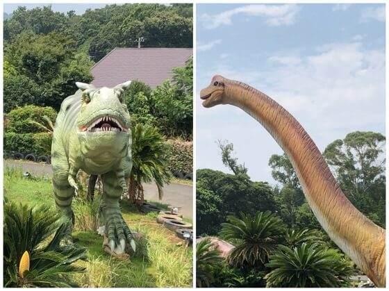 伊豆ぐらんぱる公園の恐竜のゴーカート