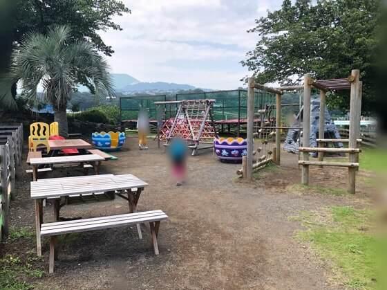 伊豆ぐらんぱる公園のキッズパーク