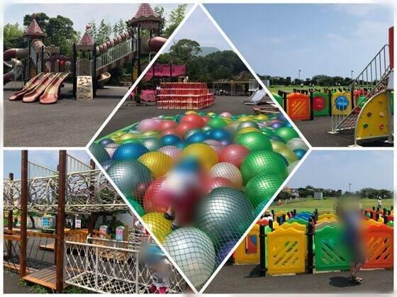 伊豆ぐらんぱる公園の無料遊具エリア