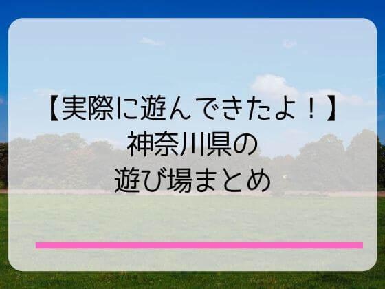 神奈川の子供の遊び場まとめ