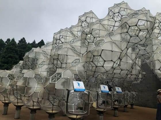 箱根彫刻の森美術館のしゃぼん玉のお城