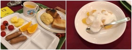 箱根強羅にあるリゾーピア箱根で2歳の子どもが食べた朝食ビュッフェメニュー